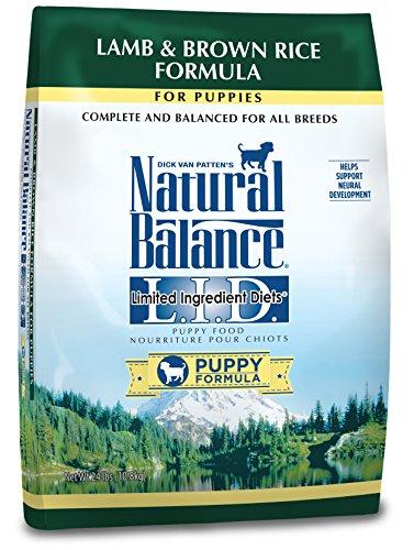Natural Balance Puppy Formula L.I.D. Limited Ingredient Diets Lamb & Brown Rice (Brown Diet Dog Food)