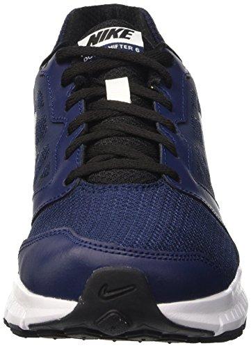 6 Midnight Blanco Weiß Herren Nike Weiß Downshifter Laufschuhe Schwarz Azul Navy Schwarz 01nwSREqF