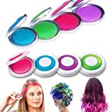 OKOKMALL US--Hot Hues Non-toxic Temporary Hair Chalk Dye Soft Pastels Salon Kit 4 Box Q