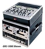 Gator 10U Top, 2U Side Console Audio Rack (GRC-10X2)