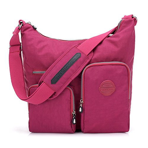 Bag Bag Red Side Travel Outreo Bag Messenger Casual Lightweight Cross Crossbody Pack Women Fashion Shoulder Ladies Body for Waterproof Bag qRvYqw