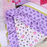 Wowelife Purple Elephant Nursery Set 100% Cotton