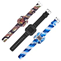 Polor FT4 or FT7 Band Accessory,Sibode Newest Design Replacement Wristband Strap for Polar FT4 or FT7 Heart Rate Monitor with Secure Fasteners Metal Clasps Wristbands/Band