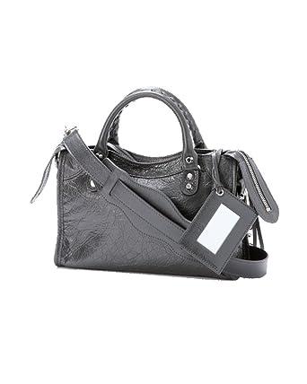 ab7213c6a3 Balenciaga Femme 300295D94JN1160 Noir Cuir Sac Porté Épaule: Amazon.fr:  Vêtements et accessoires
