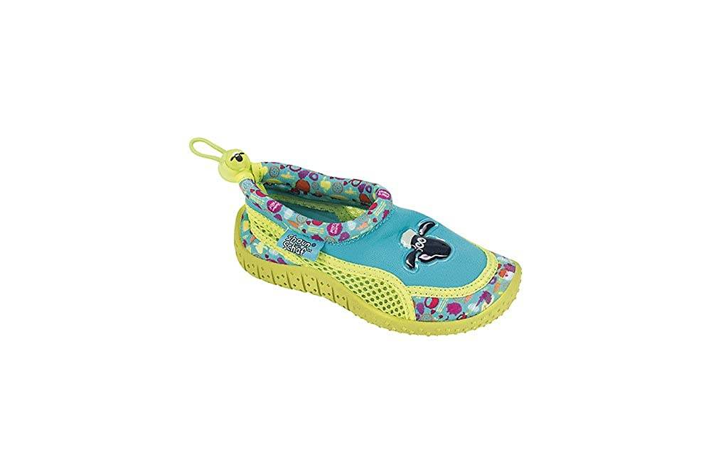 Fashy 7496 - Kinder Aquaschuhe Badeschuhe Shaun Das Schaf