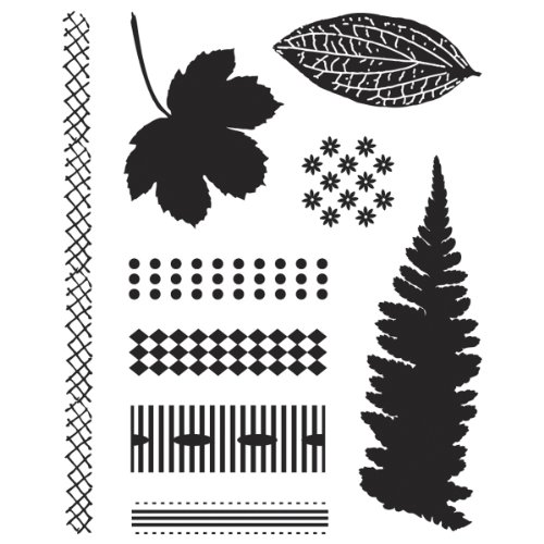 BasicGrey Indian Summer Bitsy Stamps Finery - Stamp Bitsy Clear