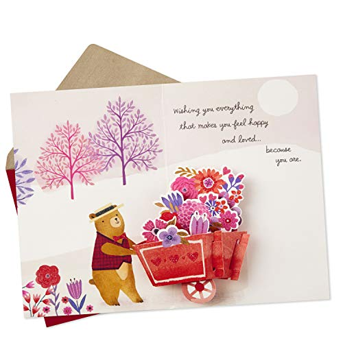 Hallmark Paper Wonder Pop Up Valentines Day Card for Anyone (Beary Loved Valentine) Photo #6