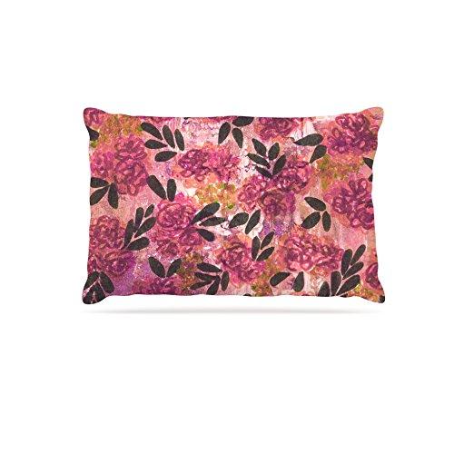 30 by 40\ Kess InHouse Ebi Emporium Mistletoe Nebula  Fleece Dog Bed, 50 by 60 , Red Green