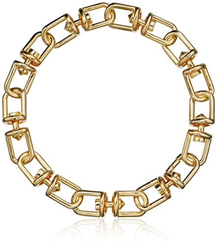 EDDIE BORGO Fame Link Collar Chain Gold Necklace, 18'' by EDDIE BORGO