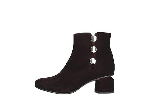 Albano 8041lam50 Botines Bajos Mujer Negro 39: Amazon.es: Zapatos y complementos