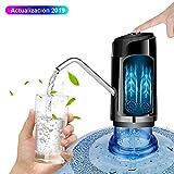 Dispensador de agua, Sebami Bomba de agua potable Dispensador de Agua Potable Botellas Con Botón para Hogar y oficina (Negro)