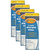 (8) Hoover WindTunnel Self Propelled 3 Layer Final Vacuum Filters, Bagless, Upright, Widepath, Empower, Foldaway, PowerMax Vacuum Cleaners, 40110006, 38766021, 38766-021, H-38766021