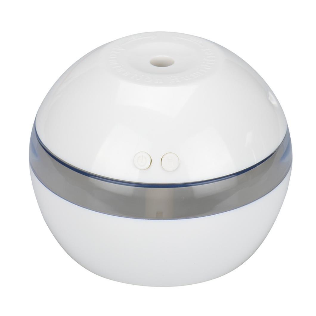 300ML Bebé Humidificador Ultrasónico Aromaterapia, Zolimx Aire Spray Dispensador de Agua Difusor Belleza Humectante Humidificador (Blanco) zolimx_bebé