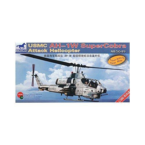 Bronco Models 5049 1/350 USMC AH-1W Super Cobra Attack Helicopter