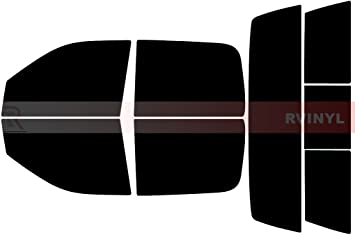 Rtint Window Tint Kit for Dodge Ram 1500 2500 3500 2009-2018 - Windshield Strip 4 Door 5/%