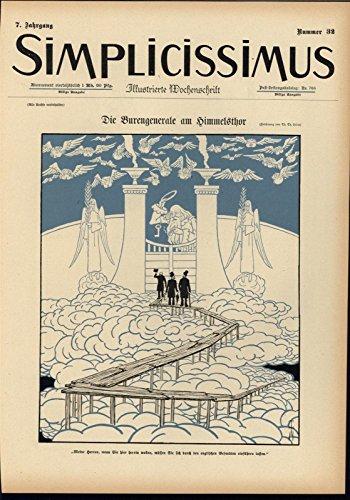 - Heaven Pearly Gates Choir Angels 1902 antique Art Nouveau color lithograph print