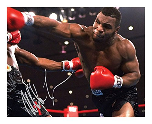 Mike Tyson Signed Autographed 8 x 10 Photo