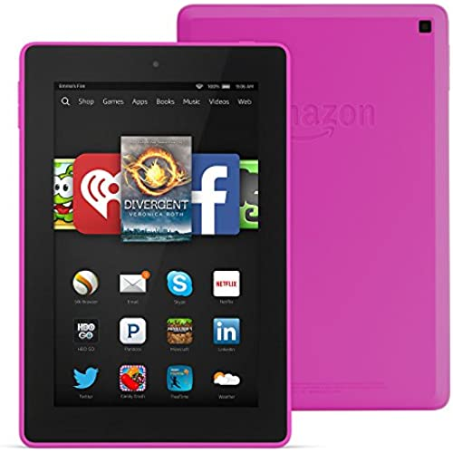 Fire HD 7 Tablet, 7 HD Display, Wi-Fi, 16 GB - Includes Special Offers, Magenta Coupons