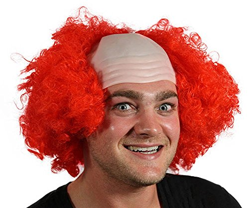 My Costume Wigs Men's It The Clown Wig (Red) One Size fits all