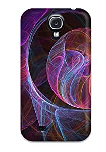 Durable Protector Case Cover With Fractal Hot Design For Galaxy S4