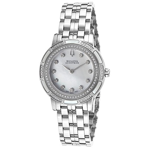 Bulova Diamond Accent Watch (Bulova Accutron Pemberton Women's 63R139XG Diamond Accents Bracelet Watch (Certified Refurbished))