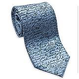 Josh Bach Mens Signatures Declaration of Independence Silk Necktie Made in USA