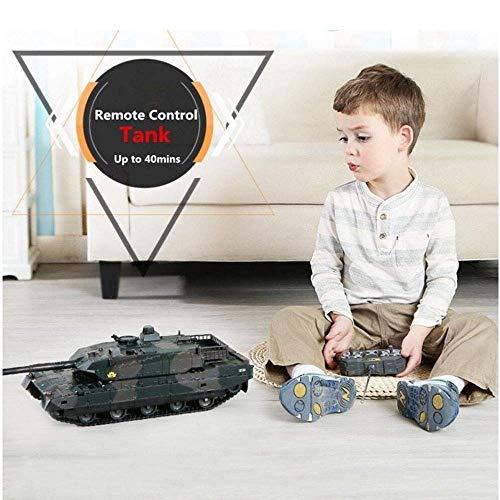 Amazon.com: KRCT High Horsepower Remote Control Tank High ...