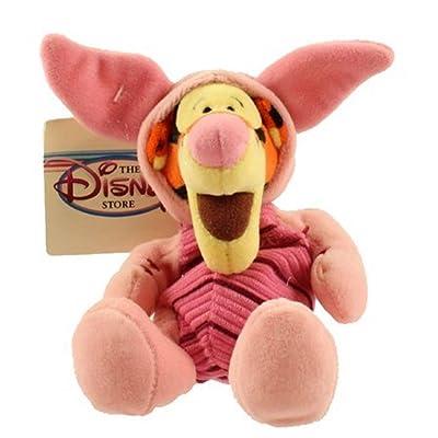 "WINNIE THE POOH Disney's Tigger as Piglet 8"" Plush Beanie: Toys & Games"