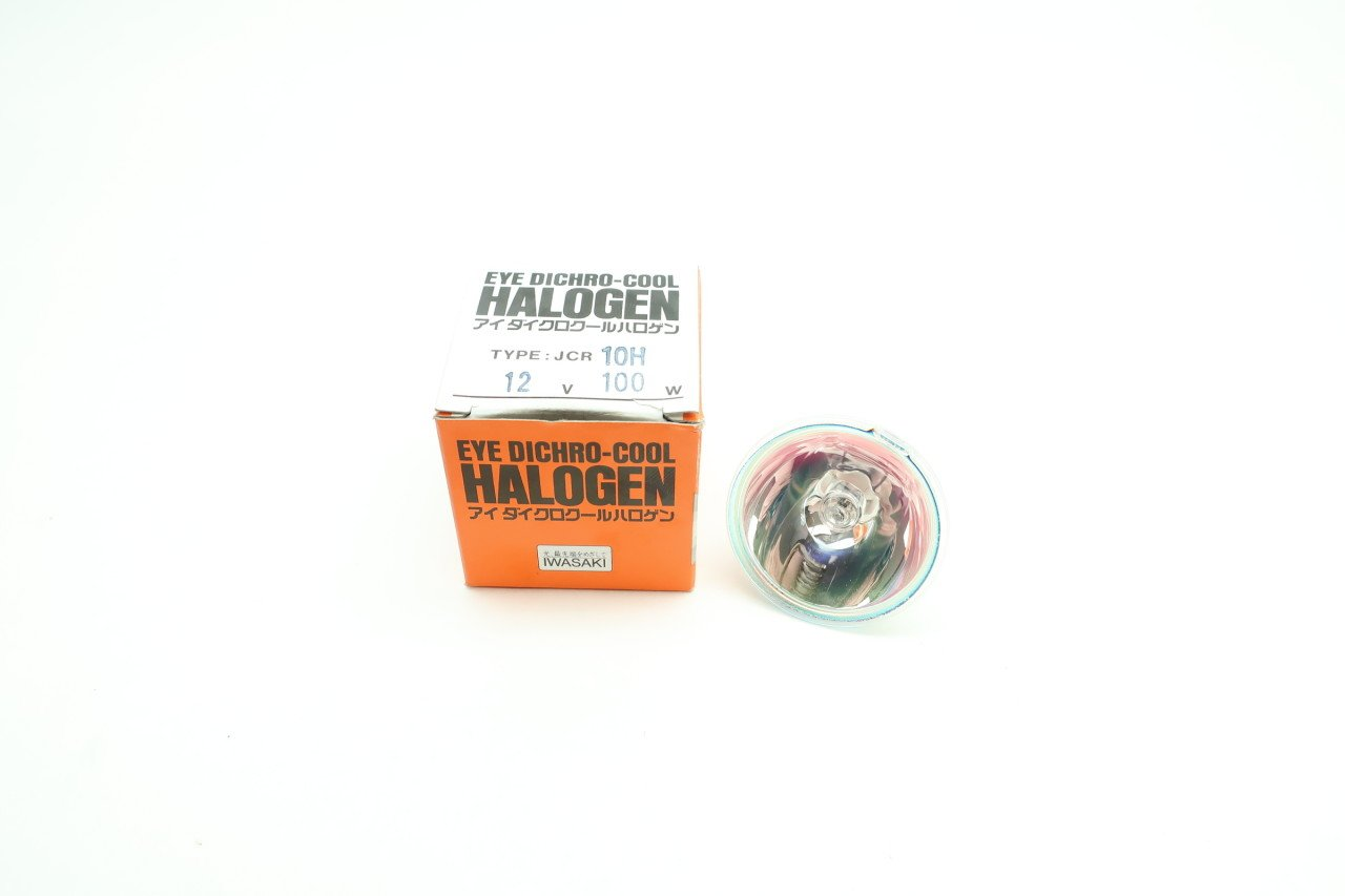 IWASAKI ELECTRIC JCR EYE DICHRO HALOGEN LAMP 10H 100W 12V D607465: Amazon.com: Industrial & Scientific
