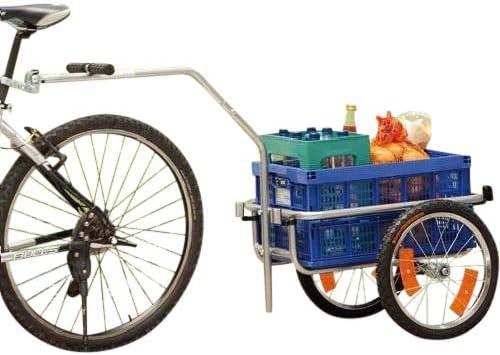 ERCOLE POLIRONESHOP Chariot remorque transport vélo Course matière ...