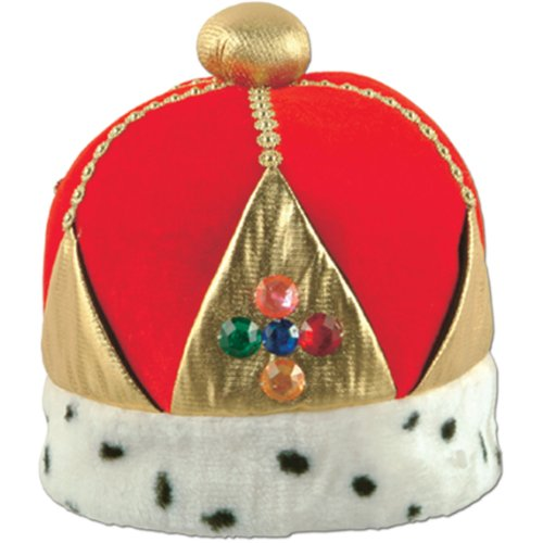 Beistle Plush Imperial Queen's Crown