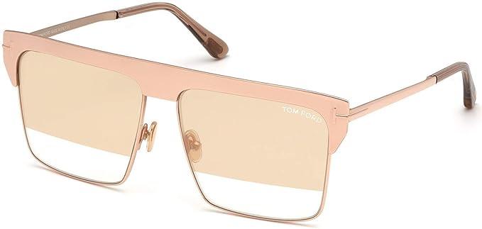 Tom Ford FT 0706 West 33Z - Gafas de sol (bañadas en oro ...