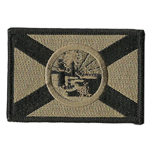 Gadsden and Culpeper Florida Tactical Flag Patch ()