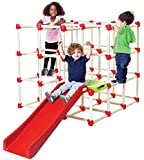 Lil Monkey Cube Climber GYM Foldable Cubic Frame Structure With Slide 1.2 Meter hight
