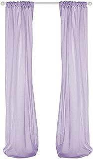 product image for Glenna Jean Penelope Sheer Panel, Lavender/Mint/White