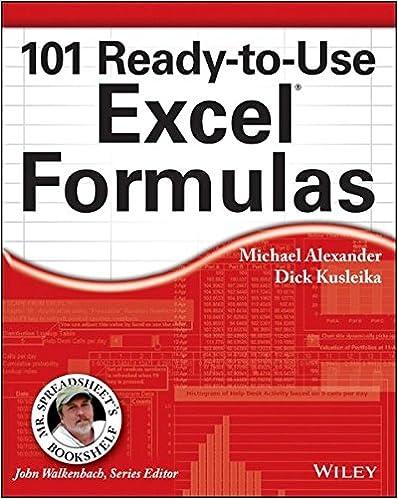 Amazon.com: 101 Ready-to-Use Excel Formulas (Mr. Spreadsheet's ...