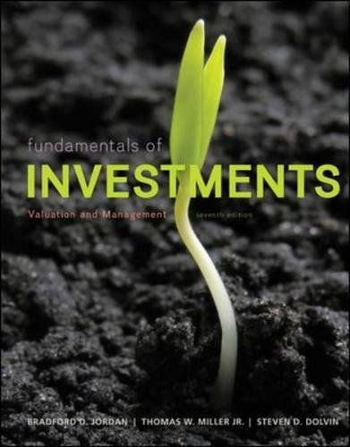 Download Fundamentals of Investments: Valuation and Management pdf epub