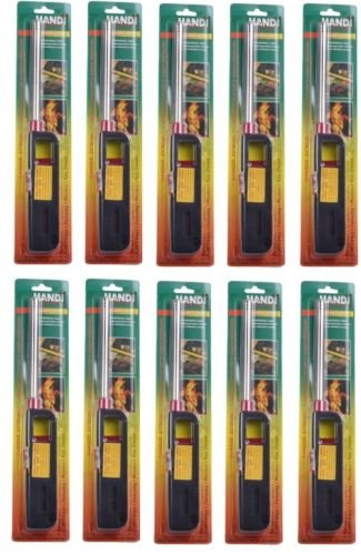 10pk BBQ Grill Lighter Refillable Butane Gas Candle Fireplace Kitchen Stove Long