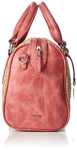 Tamaris 2047171, Bolso Mujer Rojo (coral Comb.)
