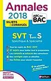 Annales ABC du Bac SVT Terminale S Spé & Spé 2018
