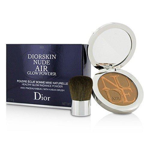 (Christian Dior Diorskin Nude Air Glow No. 003 Warm Tan Powder for Women, 0.35 Ounce)