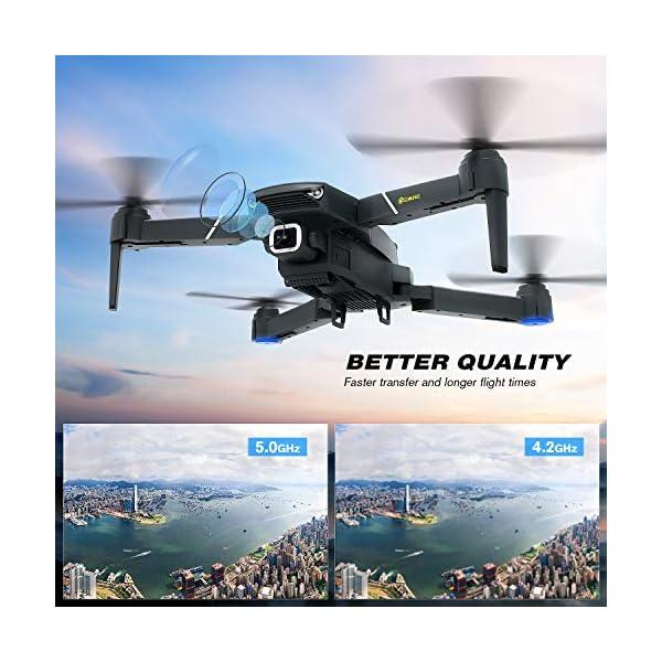 EACHINE E520 Drone 4K Telecamera 2.4GHz Pieghevole Drone con WiFi FPV App Mobile Controllo Grandangolare 2 spesavip