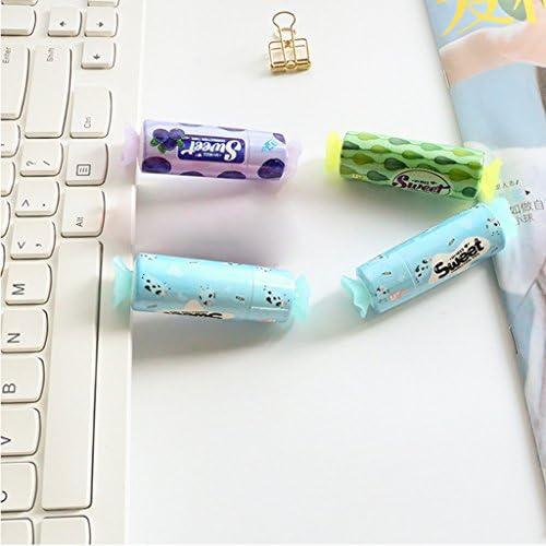 Manyo Cintas Correctoras 1 Unids 5m Candy Correction Tape White Out Roller Tool Escuela Papeler/ía De Oficina Papeleria Creativa