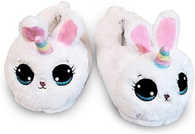 Top Trenz Plush Bunny Slippers