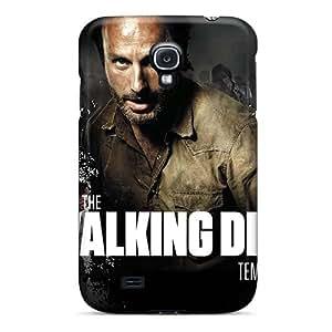 Best Hard Phone Cases For Samsung Galaxy S4 (AOv1588NTfV) Unique Design Colorful Walking Dead Temporada 3 Pattern