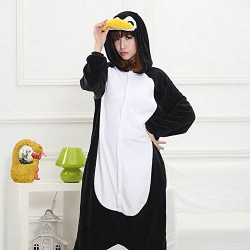 Animali scheletro Hot Halloween Zoo Onesies Pinguino Cosplay Pigiama 160 Costume Kigurumi Unisex m Carnevale Tuta eH2ED9YIW