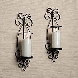 Danya B San Remo Wall Candle Sconce Set
