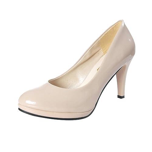Para Zapatos Tacon De Vestir Material Sintético Mujer Con n0y8wOmvNP