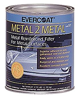 Fibreglass Evercoat 889 Metal-2-metal Aluminum Reinforced Filler - Quart 0