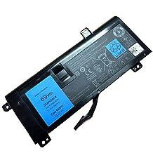 SLE®11.1V 69Wh New Laptop G05YJ Battery for Dell Alienware 14 A14 M14X R3 R4 G05YJ 0G05YJ Y3PN0 8X70T 12-months warranty
